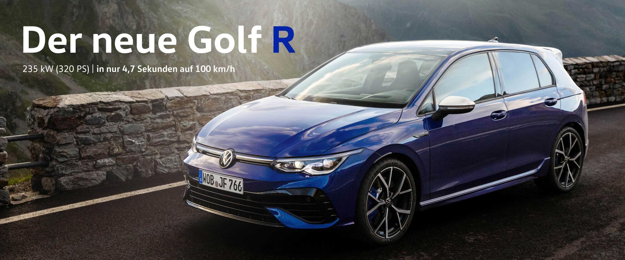 Golf 8 R